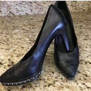 Chanel platform shoes